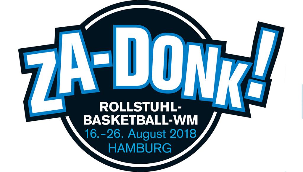 ZA-Donk Rollstuhlbasketball-WM in Hamburg vom 16. bis 26. August 2018