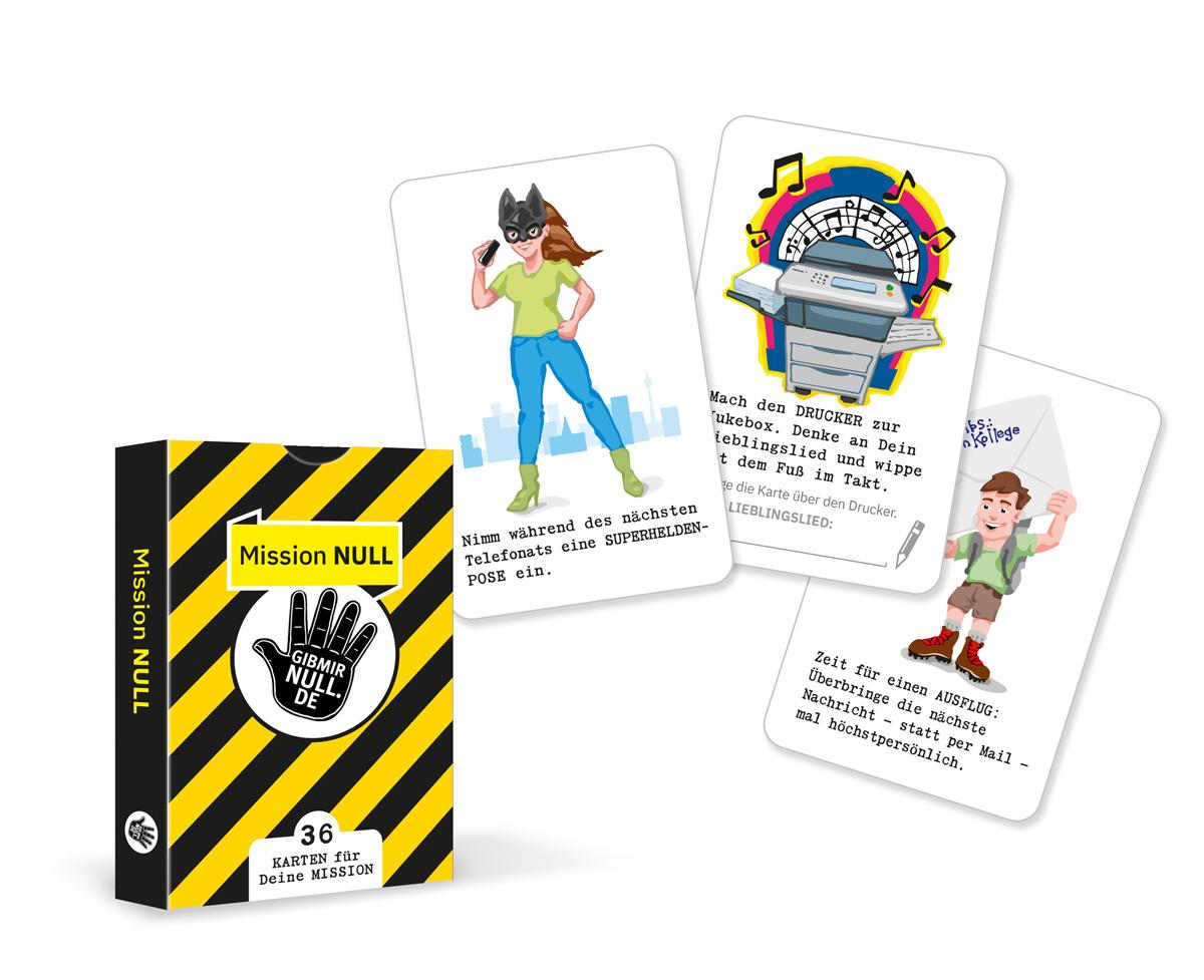 Mission Null! Karten-Set