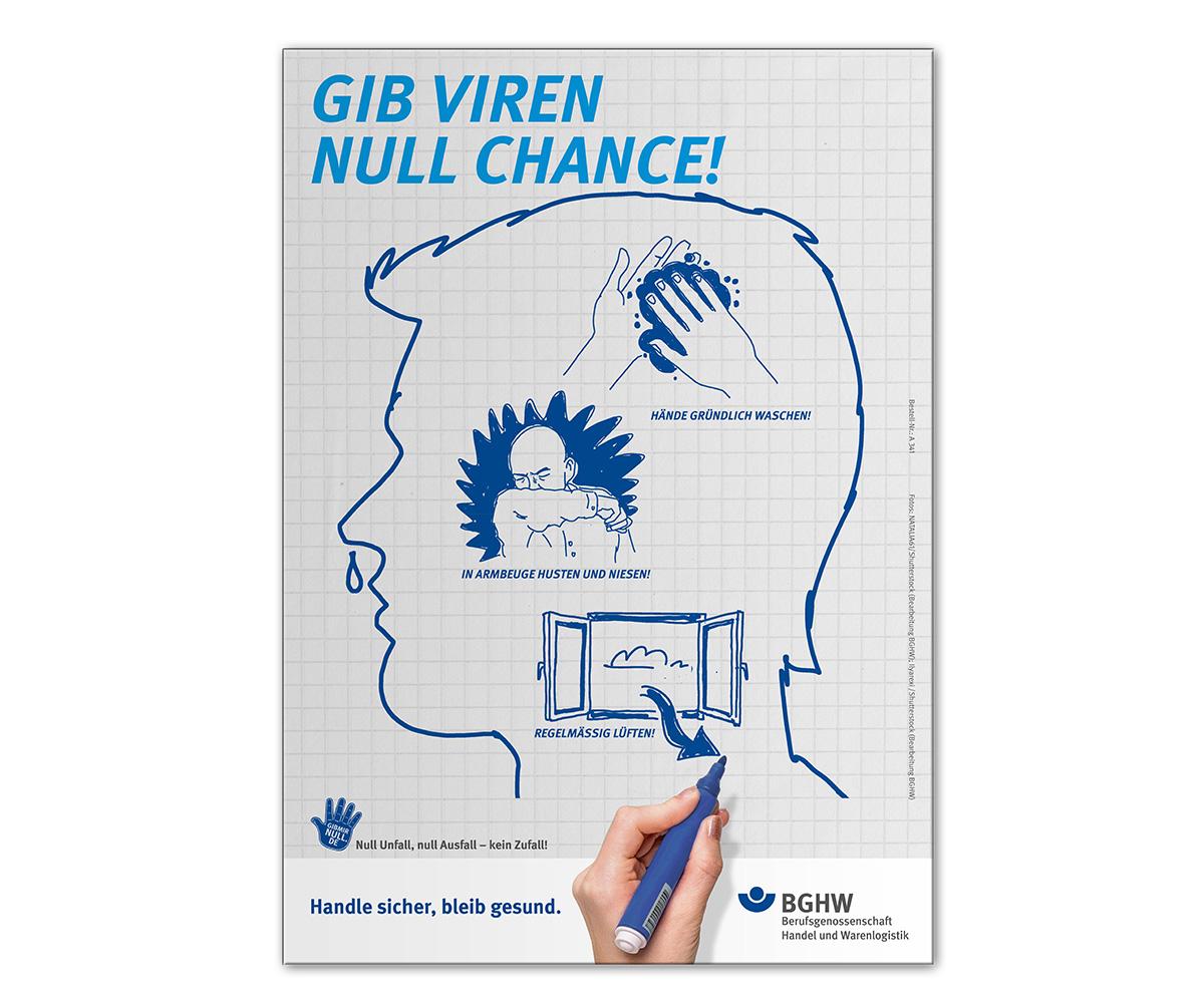 Gib Viren null Chance!