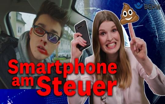 """Startbild für YouTube Video Nullshow """"Smartphone am Steuer"""""""