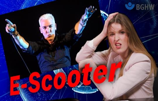 "Startbild für YouTube Video Nullshow ""E-Scooter"""