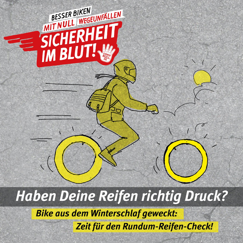 Zeichnung: SIB_Motorradcheck Frühjahr 01